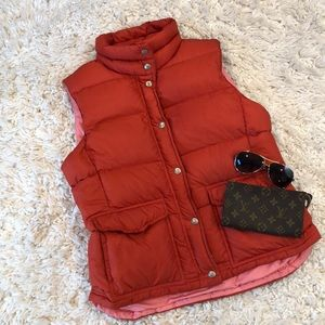 J. Crew Down Filled Puffer Vest